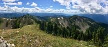 Looking South - Idaho Peak, Valhallas
